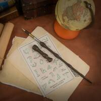 Kép 1/5 - HARRY POTTER - Dumbledore varázspálca toll BubbleStore