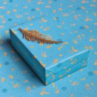 Kép 1/3 - HARRY POTTER - Kviddics mintás csomagolópapír (MinaLima design) BubbleStore