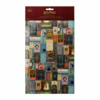Kép 2/3 - HARRY POTTER - Roxforti tankönyvek mintás csomagolópapír (MinaLima design) BubbleStore
