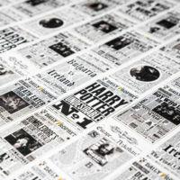Kép 3/3 - HARRY POTTER - Reggeli Próféta mintás csomagolópapír (MinaLima design) BubbleStore