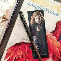 Kép 1/2 - HARRY POTTER - Hermione varázspálca toll és könyvjelző BubbleStore