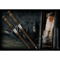 Kép 2/2 - HARRY POTTER - Dumbledore varázspálca toll és könyvjelző BubbleStore