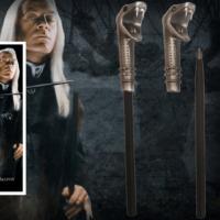 Kép 1/2 - HARRY POTTER - Lucius Malfoy varázspálca toll és könyvjelző BubbleStore