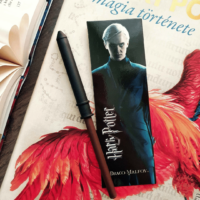 Kép 1/2 - HARRY POTTER - Draco Malfoy varázspálca toll és könyvjelző BubbleStore