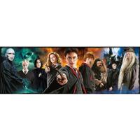 Kép 2/2 - Clementoni - Harry Potter panoráma puzzle - 1000 db BubbleStore