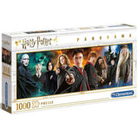 Kép 3/3 - Clementoni - Harry Potter panoráma puzzle - 1000 db BubbleStore