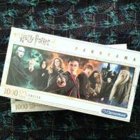 Kép 1/3 - Clementoni - Harry Potter panoráma puzzle - 1000 db BubbleStore