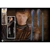 Kép 2/2 - HARRY POTTER - Ron Weasley varázspálca toll és könyvjelző