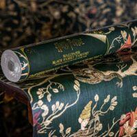 Kép 1/4 - HARRY POTTER témájú tapéta - Black családfa mintával - MinaLima design BubbleStore