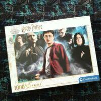 Kép 1/3 - Clementoni - Harry Potter puzzle - 1000 darab BubbleStore