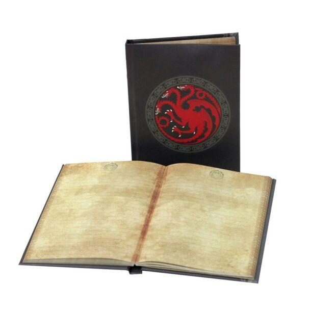 Trónok harca - Targaryen világító noteszkönyv