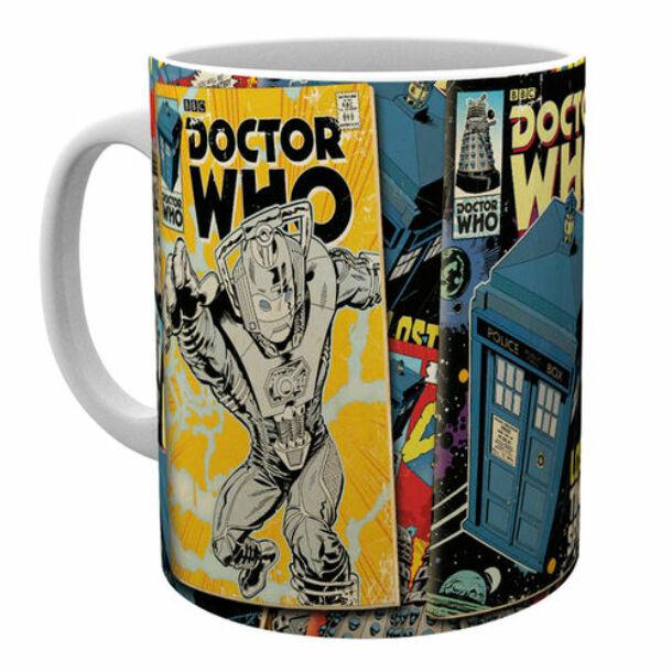 Doctor Who képregény bögre