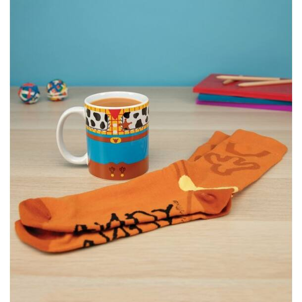 Disney Toy Story Woody bögre és zokni