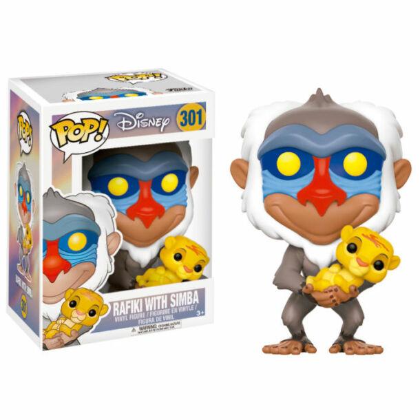 Oroszlánkirály Rafiki és Simba FunkoPop! figura