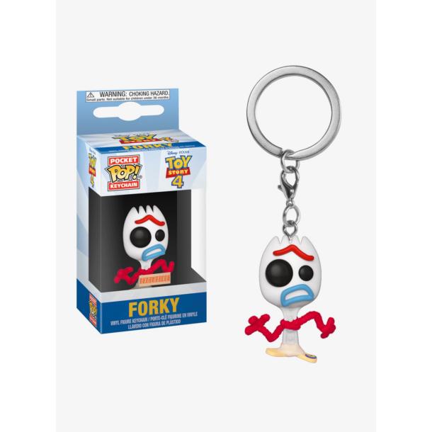 Toy Story 4 Forky PocketPop! kulcstartó