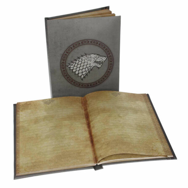 Trónok harca - Stark világító noteszkönyv