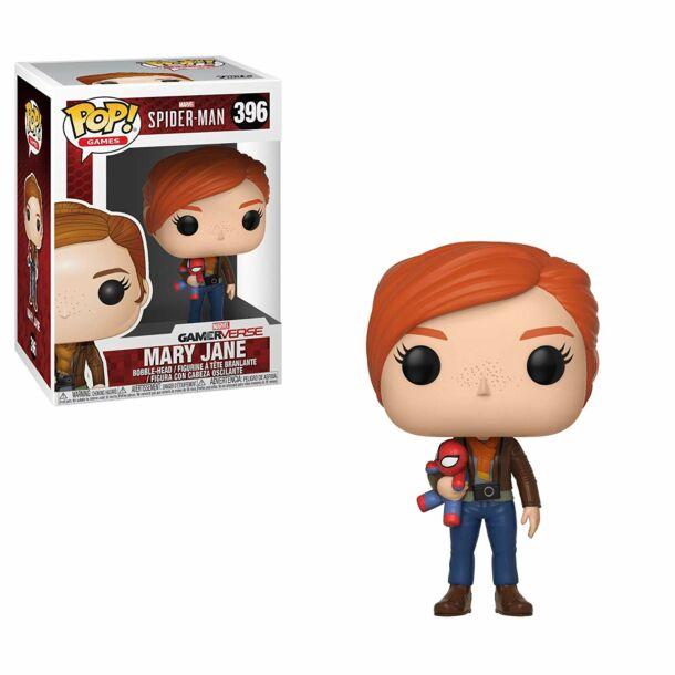 Marvel: Mary Jane és kis Pókember plüss FunkoPop! figura