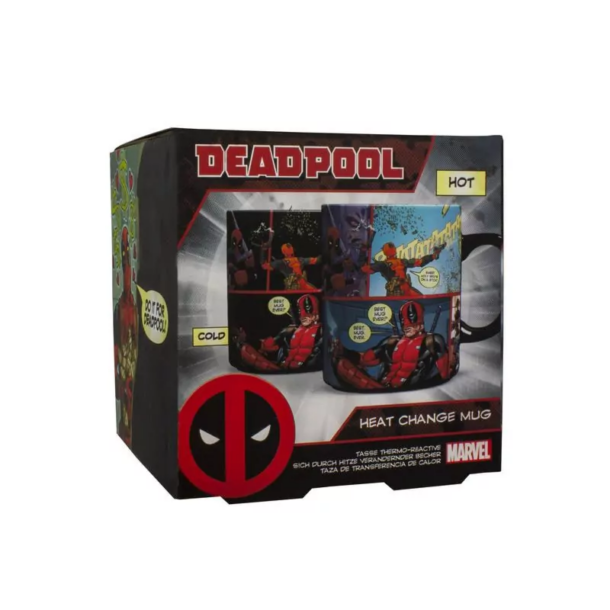 Deadpool hőre változó bögre