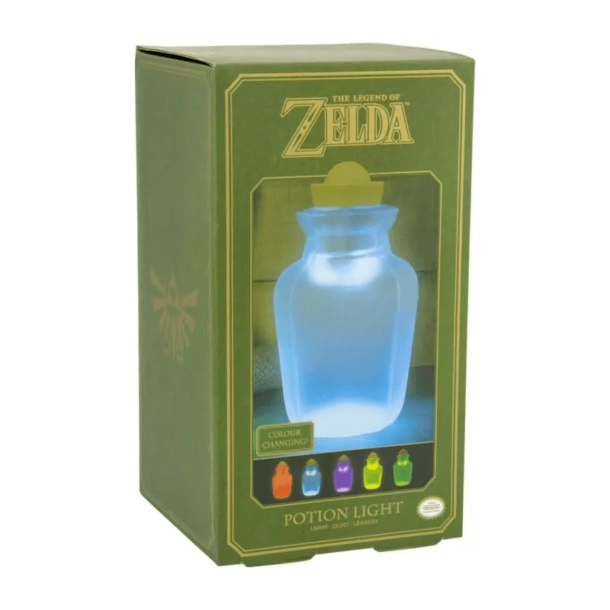 Legend of Zelda lámpás