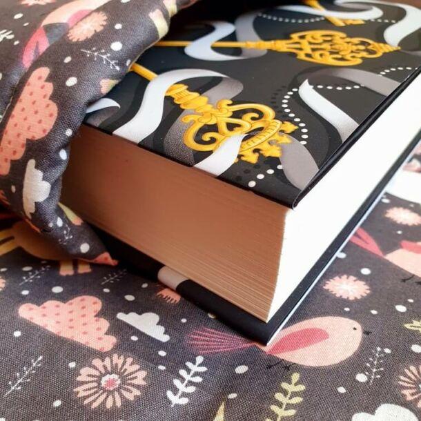 Unikornisos könyvszütyő