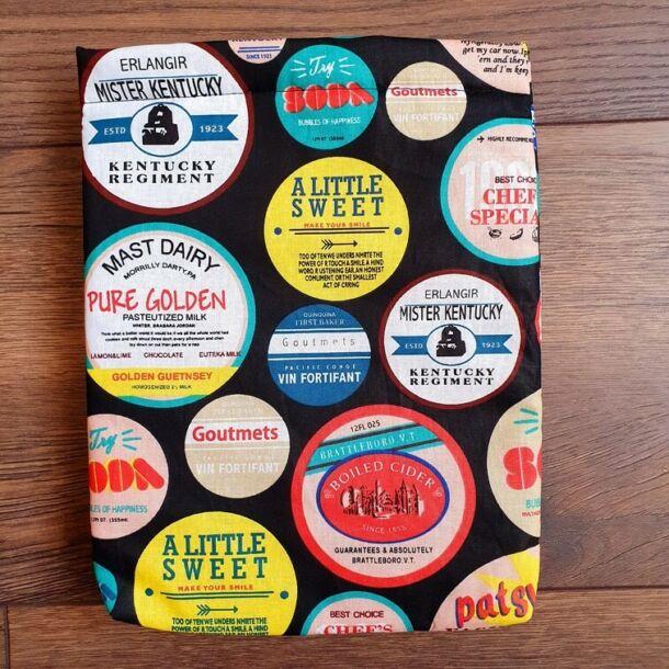 70' Amerika könyvszütyő