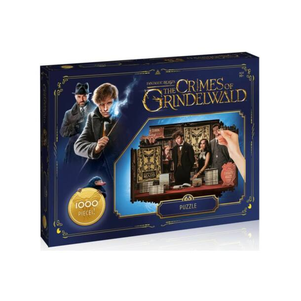 Winning Moves - Grindelwald bűntettei puzzle - 1000 db