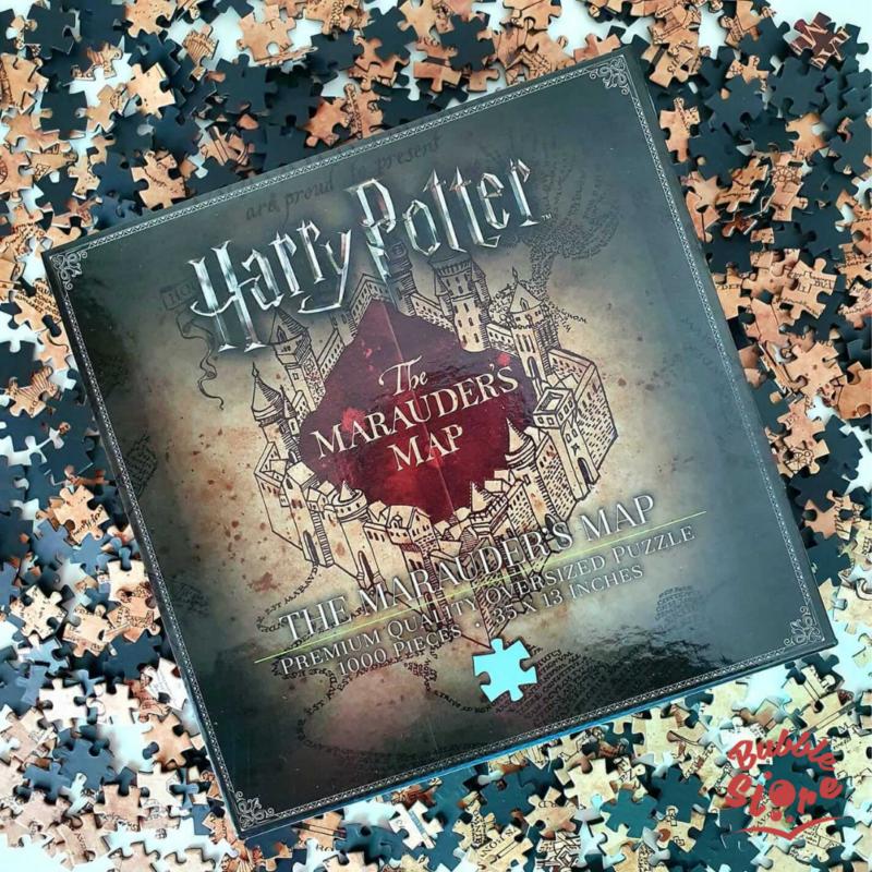 HARRY POTTER - Tekergők Térképe Puzzle (1000 darab) BubbleStore