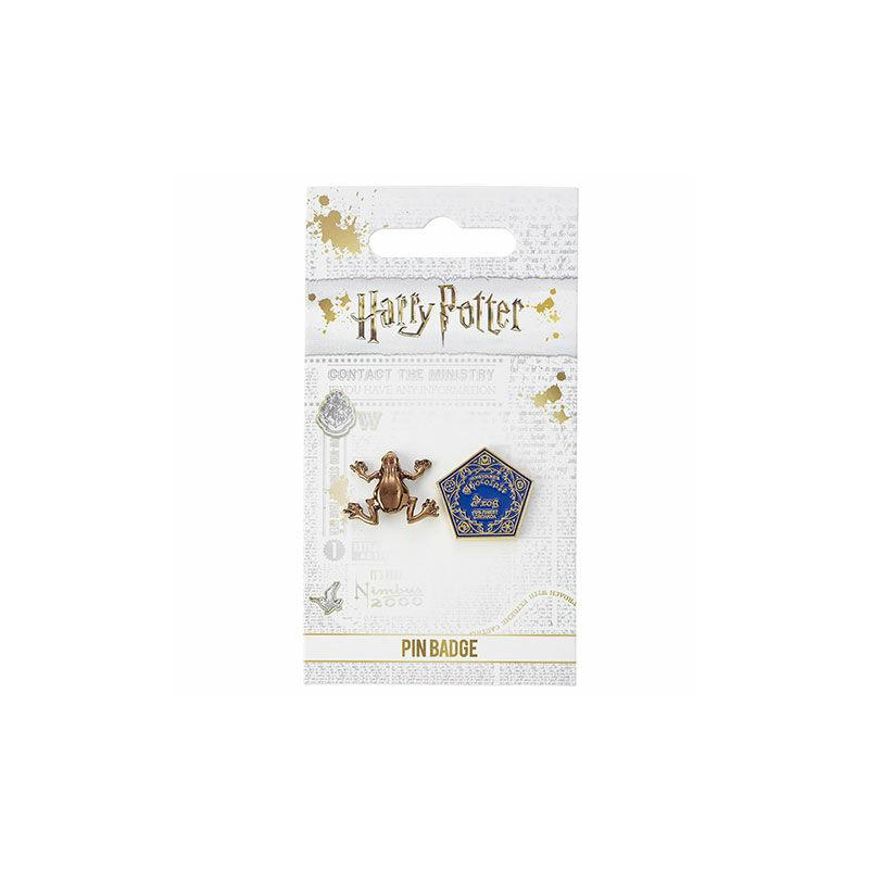 HARRY POTTER - Csokibéka fém kitűző BubbleStore