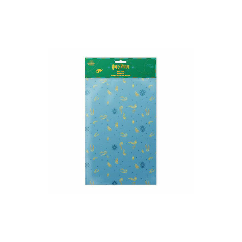 HARRY POTTER - Kviddics mintás csomagolópapír (MinaLima design) BubbleStore