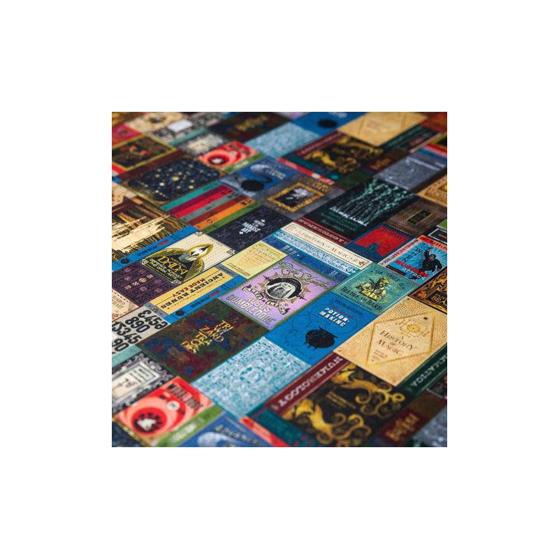 HARRY POTTER - Roxforti tankönyvek mintás csomagolópapír (MinaLima design) BubbleStore