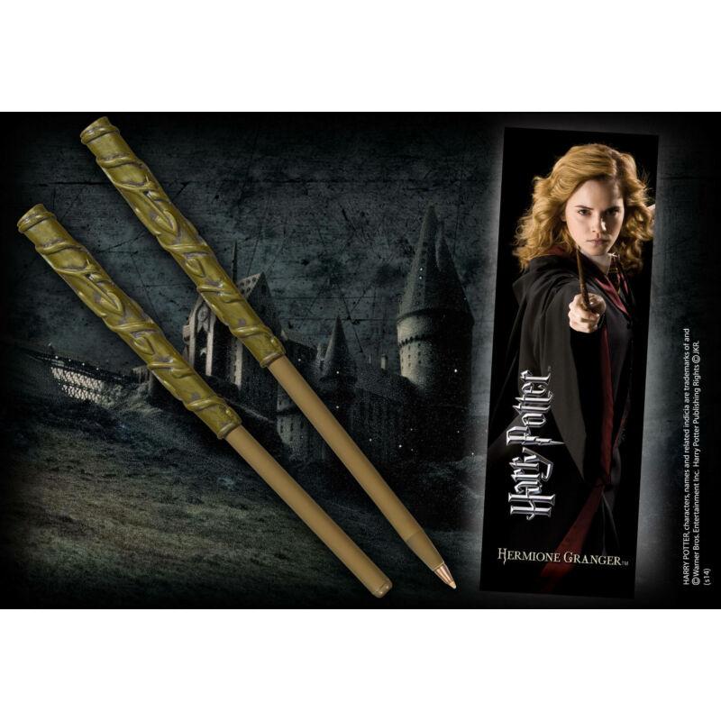 HARRY POTTER - Hermione varázspálca toll és könyvjelző BubbleStore