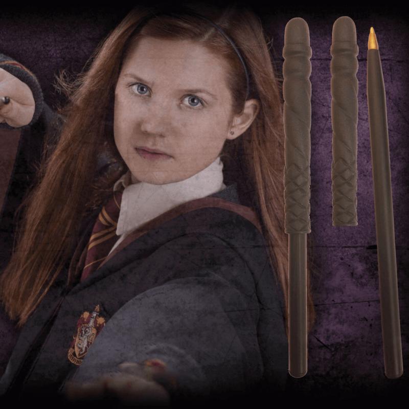 HARRY POTTER - Ginny Weasley varázspálca toll és könyvjelző BubbleStore