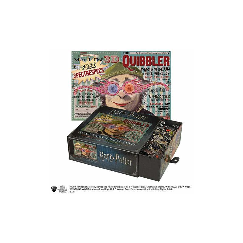 HARRY POTTER - Hírverő magazin Puzzle (1000 darab) BubbleStore