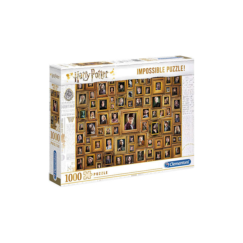 Clementoni - Harry Potter lehetetlen puzzle - 1000 db BubbleStore