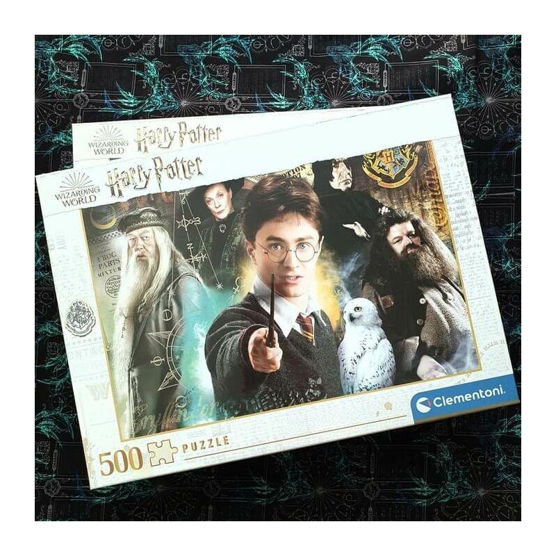 Clementoni - Harry Potter puzzle - 500 darab BubbleStore