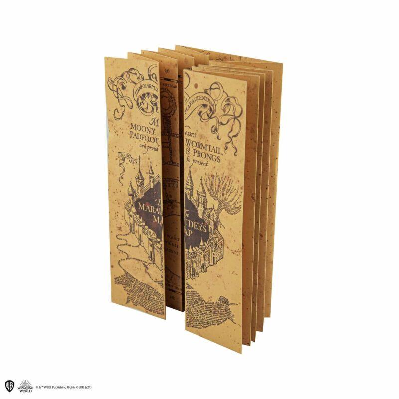 Harry Potter - Jegyzetfüzet kivehető Tekergők Térképével BubbleStore