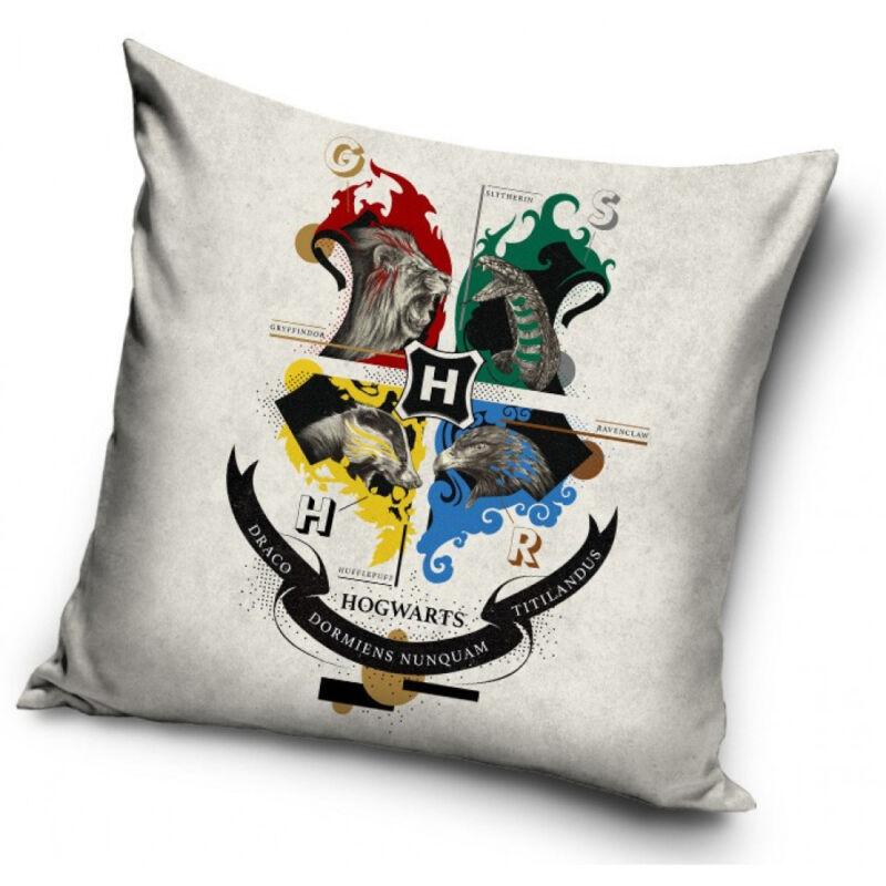 Harry Potter párnahuzat - A roxforti házak BubbleStore